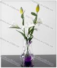 2012 plastic foldable flower vase/folding PVC flower vase