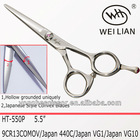 two-pieces welded hair cutting scissors HT-550P