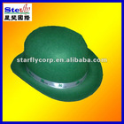 ST-H1202# fancy fedora hat/christmas festival caps ireland clover hat /four leaf clover