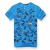 Fashion shoes printed latest shirt designs for men 2012