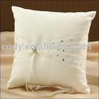 Marvellous bridal Ring Pillow/new style/wholesale retail/sparkle beads/Lace decoration