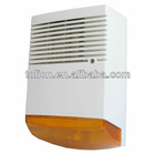 120db outdoor electronic alarm siren with strobe light
