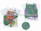 Cute T-shirt with special letters pattern