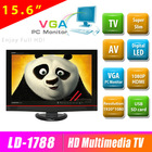 15.6 inch low power consumption lcd & led tv support USB