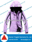 Plus size women designer ski jacket