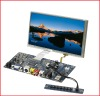 7 inch 16:9 resistive touch screen module with AV VGA Input