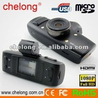 Ambarella Chip + GPS & G-sensor + 1080p GS1000 car video camera