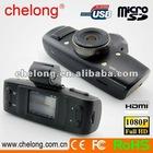 Ambarella Chip + GPS & G-sensor + 1080p GS1000 car video camera