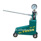 Double cylinder manual pressure test pump in 2S-SY (6.3-63MPa) series