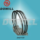 standard piston rings and seals for KOMATSU S6D105