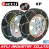 Snow chains KN12mm Economic Type for Passenger car, anti-skid chain,tire chain