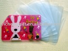 cartoon pvc card holder