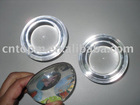 color glass round paper weight