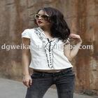 casual short fashion blouse