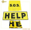 ST-295/ST-296 SOS Help sign,help sign,sos sign,plastic help flag