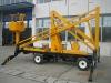 High altitude repair equipment 10.5 M Diesel Engine Aerial folding Work Platform