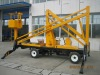 High altitude repair equipment 10.5 M Diesel Engine Aerial folding Work Platform