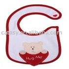 100% cotton Top quality & cute baby bib