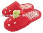 embroidered slipper