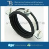 EPDM rubber pad and Steel Zinc Plated Pipe Clamp