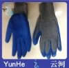fatcory supply Ten needle yellow yarn red gum furrow gloves yellow yarn red gum rubber gloves labor insurance gloves