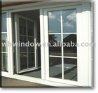 pvc windows and doors with grills (best sale),pvc/upvc windows