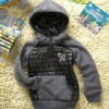 kid's hoody fleece jacket