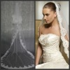 Free shipping Real sample France Best lace wedding bridal veil V0017