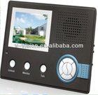 Wireless Video Intercom System,wireless color video door phone bell indoor monitor system
