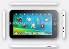7 inch Allwinner A13+Flat touch + 5 points capacitive screen + Ultra Thin Plastic case + Camera + WiFi + Tablet pc
