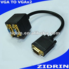 30cm VGA cable to vga*2