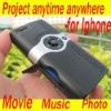 "Portable Mini iPhone Projector Pocket Cinema Projector - 54"" Screen"