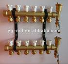 brass manifold valve heating