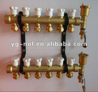 brass manifold valve heating