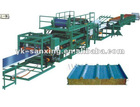 Discontinuous EPS and Rock Wool Sandwich Panel Machine