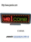 LED desk board 16x64 led message board(Direct Manufacturer)
