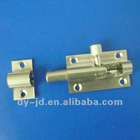 Nickel plated brass door bolts