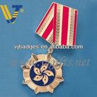 Guangdong 2013 new design custom metal lapel pin badge with enamel