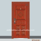 New Metal exterior steel door