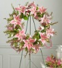 powder coating wreath easel florist easels