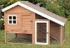 household compact WPC wooden pet house