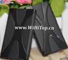For iPod Nano 7 X Line Design TPU Skin Gel Case Cover.Belt Design