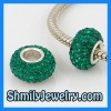 Pave Crystal Ball Beads WBSCS01