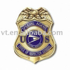 Eco-Friendly Washable Metal Police Badge