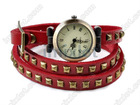 Best Christmas Gift 2012 New Wholesale Vintage Genuine Cow Leather Fashion Wrap Women/Ladies Wrist Watch [F253A*2]