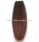 Wonderful elegant synthetic hair weft with completely cheap factory price