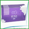 personal care clear pvc box