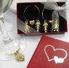 Wedding Favor Gift Wine Glass Charm
