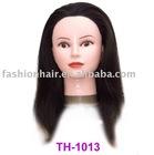 14inch 100% human hair training head