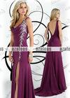 AZP020 Sleeveless Sheath Chiffon Prom dresses